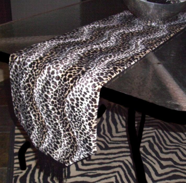 Cheetah Luxurious Faux Fur Table Runners.  $74. - $59.Table Runner...