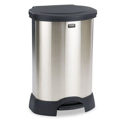 Rubbermaid Commercial Products Commercial Step-On 30-Gal Trash Container