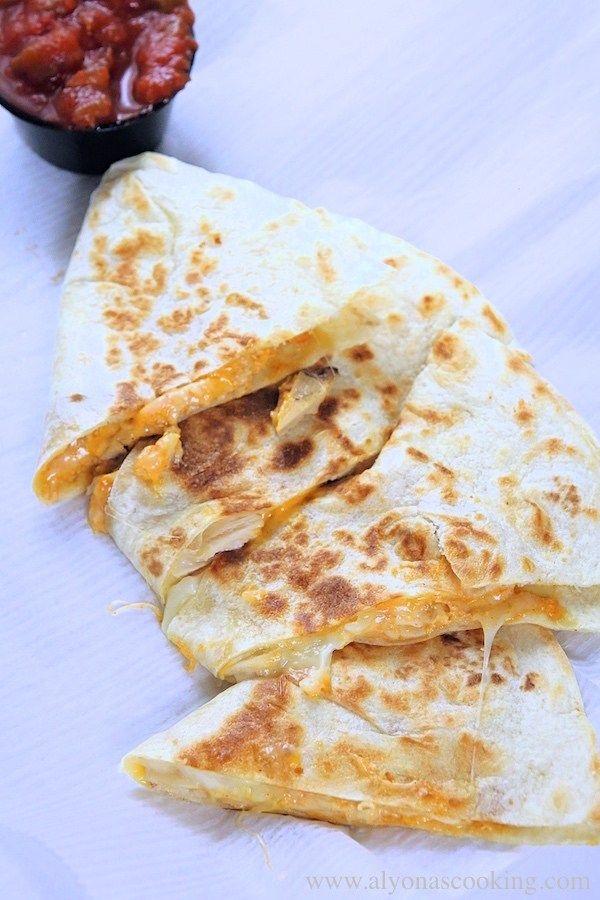How To Make Taco Bell Quesadilla Recipe Alyona S Cooking Recipe Chicken Quesadillas Soft Tacos Recipes Quesadilla Recipes Easy