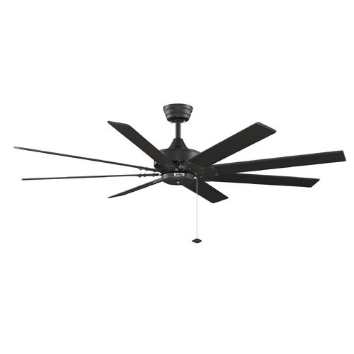 Fanimation Fans Levon Black Ceiling Fan Without Light | FP7910BL | Destination Lighting