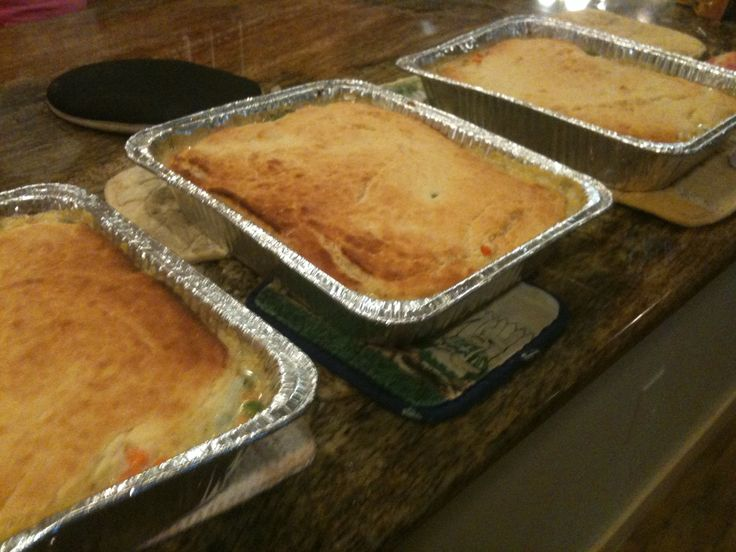 Healthy Home Blog » Blog Archive » Cooking for a Crowd: Chicken Pot Pie Recipe