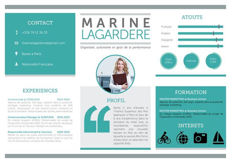 17 best images about cv originaux on pinterest