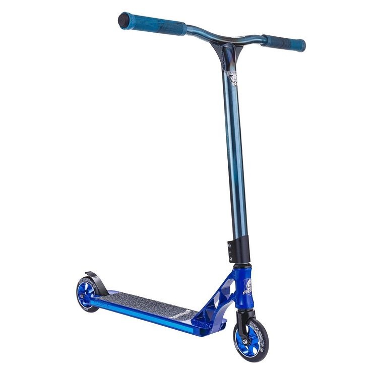 Grit Tremor 2015 Scooter - Blue Raw Blue - Grit Scooters | Slick Willies London