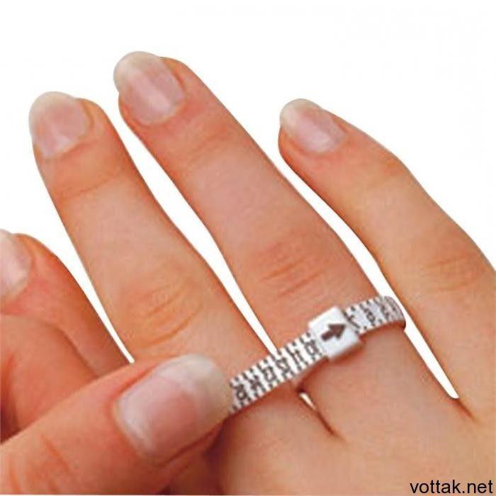 Как определить размер пальца для кольца?