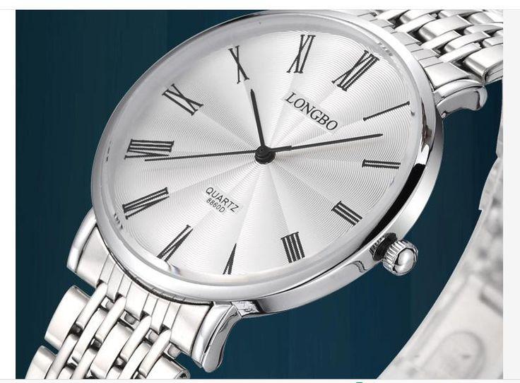 LONGBO Luxury Water Resistant Classic Easy Read Sports Lady Wrist Watch,Free Shipping Top Quality Women Full Steel Watch 8860D