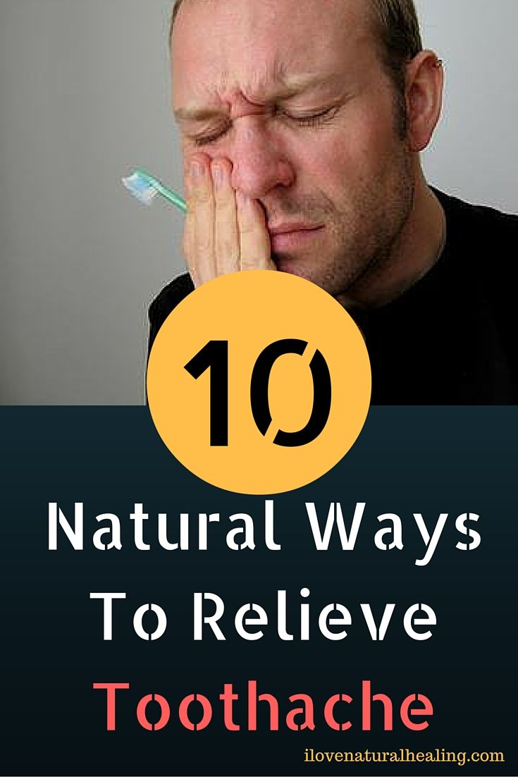 TOP 10 Natural Ways To Relieve Toothache