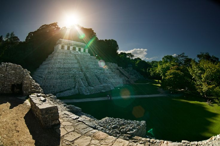 Peerless Palenque (Mexico). 'Gather all your senses and dive headfirst into the ancient Maya world, where pyramids rise above jungle treetops and furtive monkeys shriek and catapult themselves through dense canopy.' http://www.lonelyplanet.com/mexico/tabasco-and-chiapas/palenque