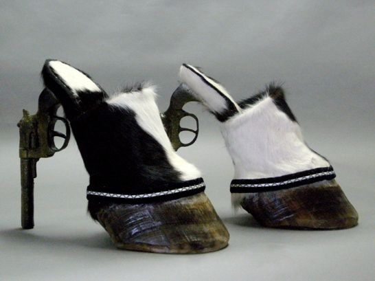 Hmm, not so much    recycled-high-heels-19  http://1800recycling.com/2011/06/high-heels-recycled-bizarre-materials/#