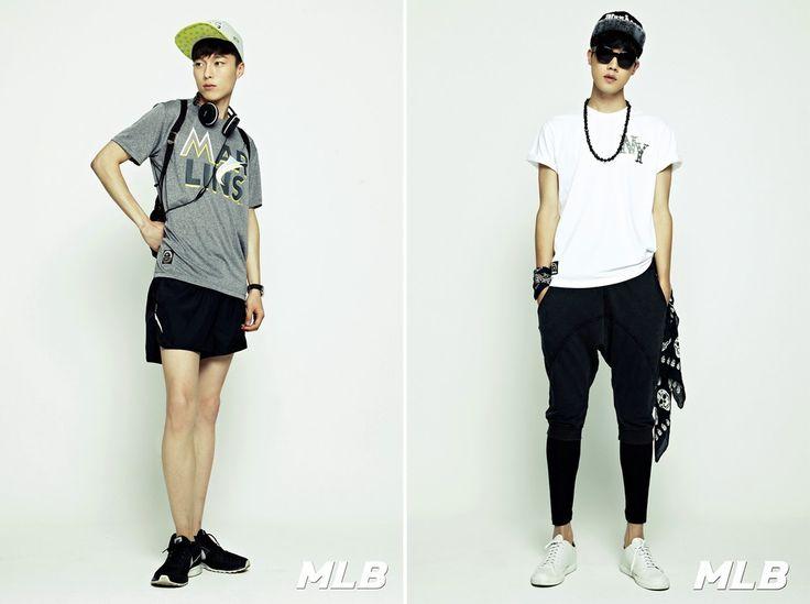 Korea Model모델 /Idol아이돌: MLB - HOT SUMMER STYLE
