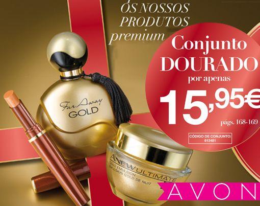 Conjunto Dourado por 15,95€, são 3 produtos que não pode perder!