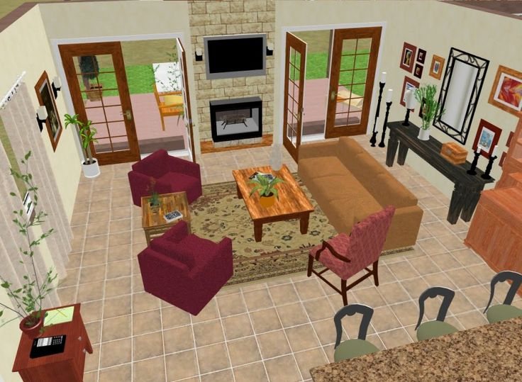 Great Room Furniture Ideas Part - 37: Family Room Design Layout ~ Http://modtopiastudio.com/the-best
