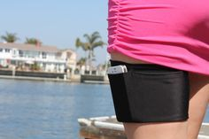 A Garter Purse that holds cellphones, keys, cards, and other evening essential's discreetly and securely. on Etsy, $14.99