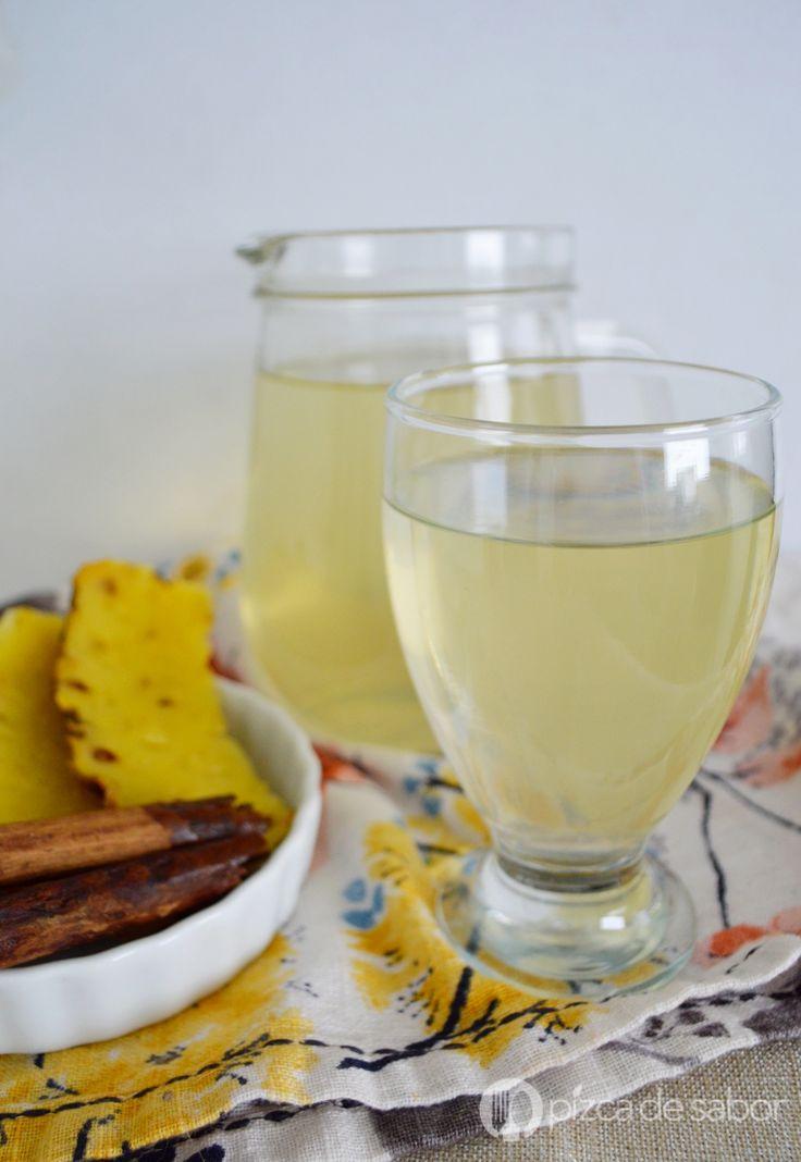 Agua de piña y canela para desinflamar (eliminar líquidos y mejorar digestión)