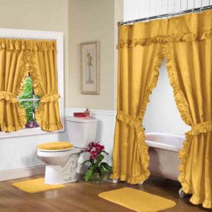 Fancy Shower Curtains With Valances
