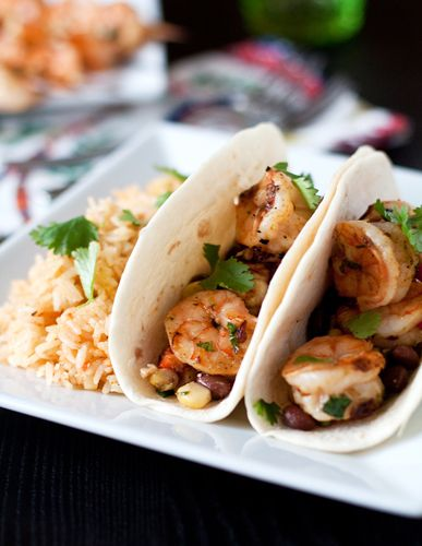 // chipotle lime shrimp tacos