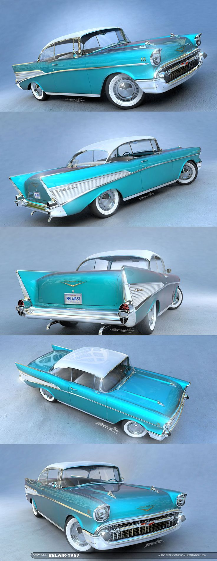 1957 Chevrolet Bel Air...Brought to you by #House of #Insurance in Eugene, Oregon More