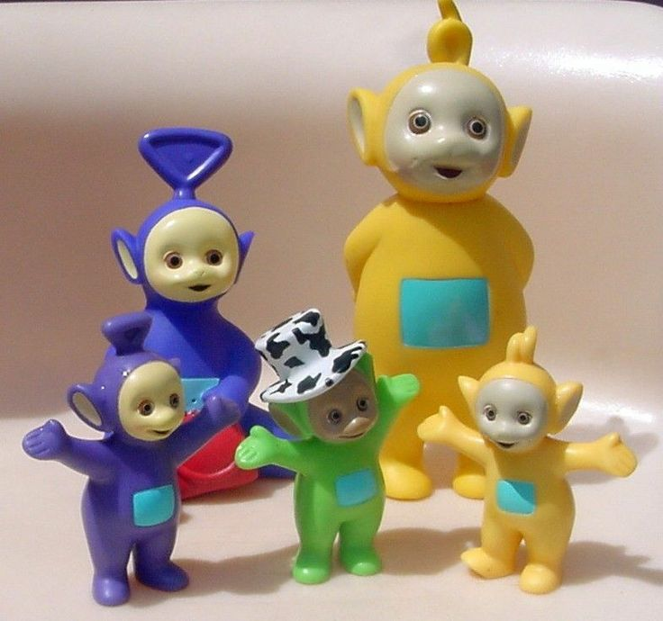 Lot Pvc Teletubbies Cake Toppers Dipsy Laa Laa Tinky Winky
