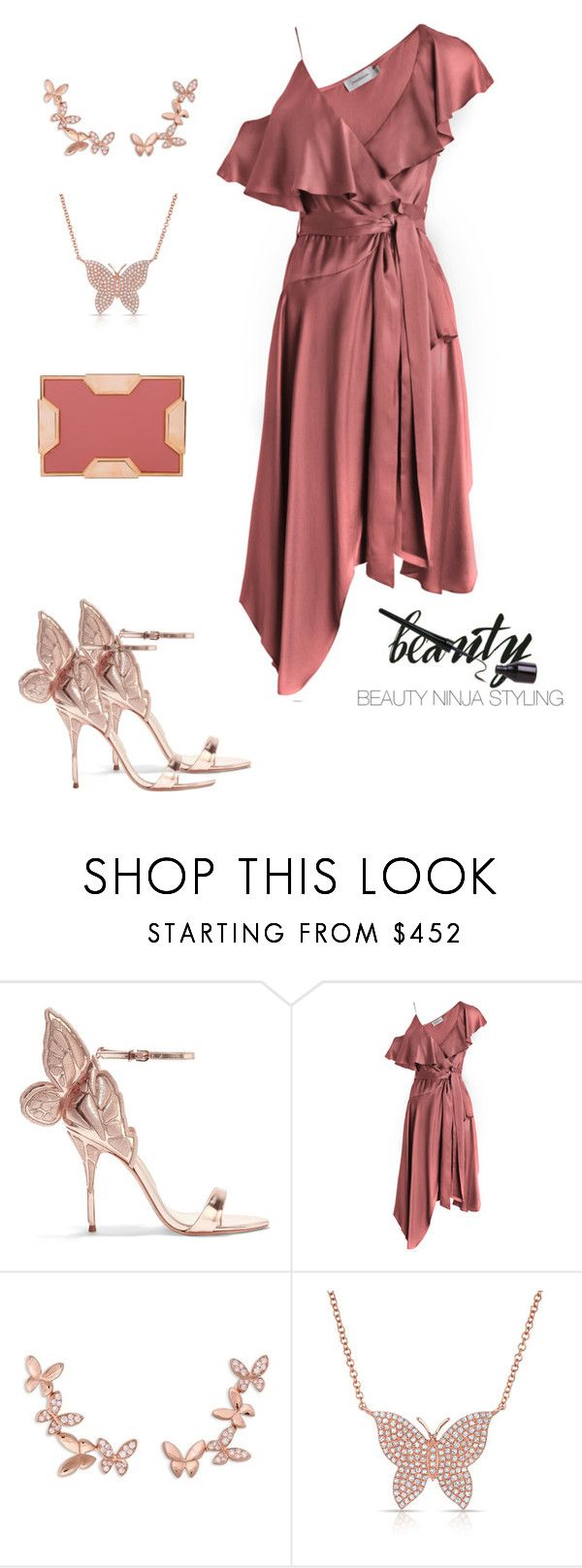 """Butterfly ~ Styled by @beauty_ninja_styling"" by beautyninjastyling ❤ liked on Polyvore featuring Sophia Webster, Zimmermann, Anyallerie, Anne Sisteron and Lee Savage"