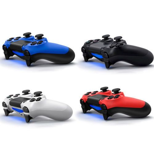 Wired USB Gaming Controller Joystick Gamepad For PS4 - Double Shock - New - UK