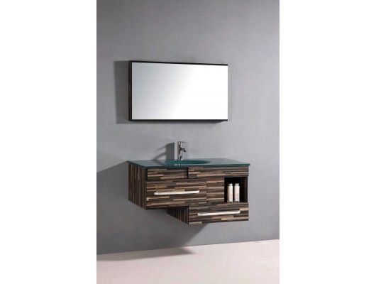 Single Vanity Light Ideas : Vanity Sink- 39.5
