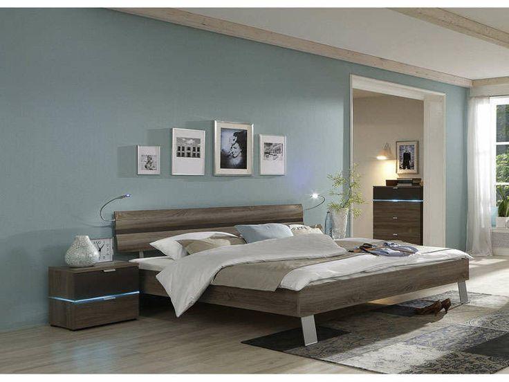 Mais de 1000 ideias sobre lit 140x190 no pinterest armoire 4 portes armoir - Encadrement de lit conforama ...