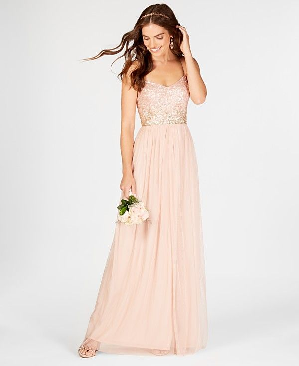 cf852f1f2bec Mix and Match Bridesmaid Dresses - Macy's | Bridesmaids | Tulle gown ...