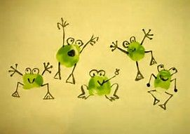 Résultat d'images pour frog fingerprint art