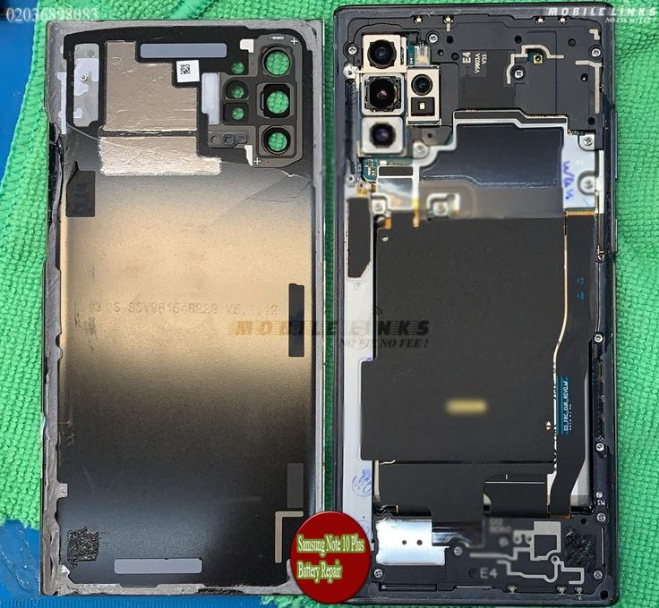 Samsung Note 10 plus Battery Replacement at Mobile Links