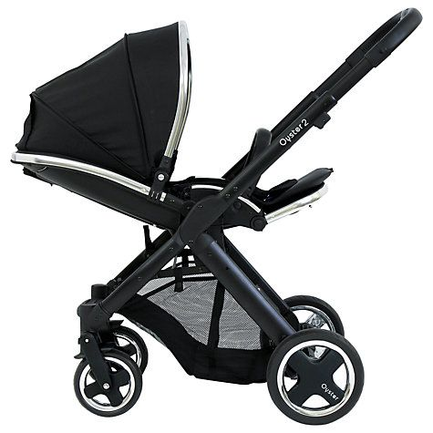 Buy BabyStyle Oyster 2 Chassis, Black Online at johnlewis.com