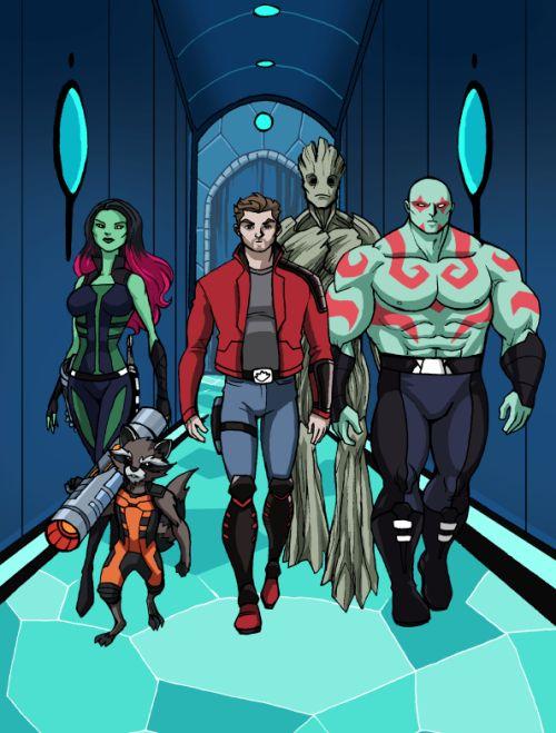 Marvel Infinite Comics: Guardians Of The Galaxy - Luciano Vecchio
