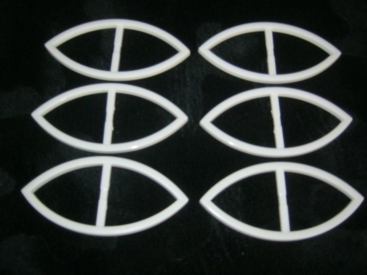 6 Stück Große Gürtelschnallen ohne Dorn,Weiß,Katzenauge,Länge ca.120 mm,Breite ca.57 mm,Steg ca.47 mm,Neu,Lübecker Knopfmanufaktur von Knopfboutique auf Etsy