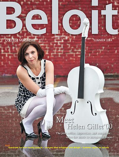 I went to college with this woman....she is talented, kind, beautiful and living her dream. Beloit College