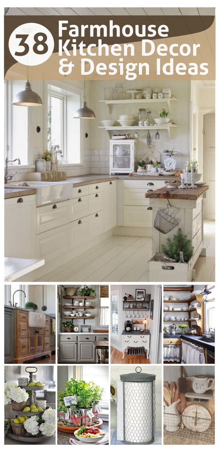 Best Farmhouse Kitchen Decor and Design Ideas to Fuel your