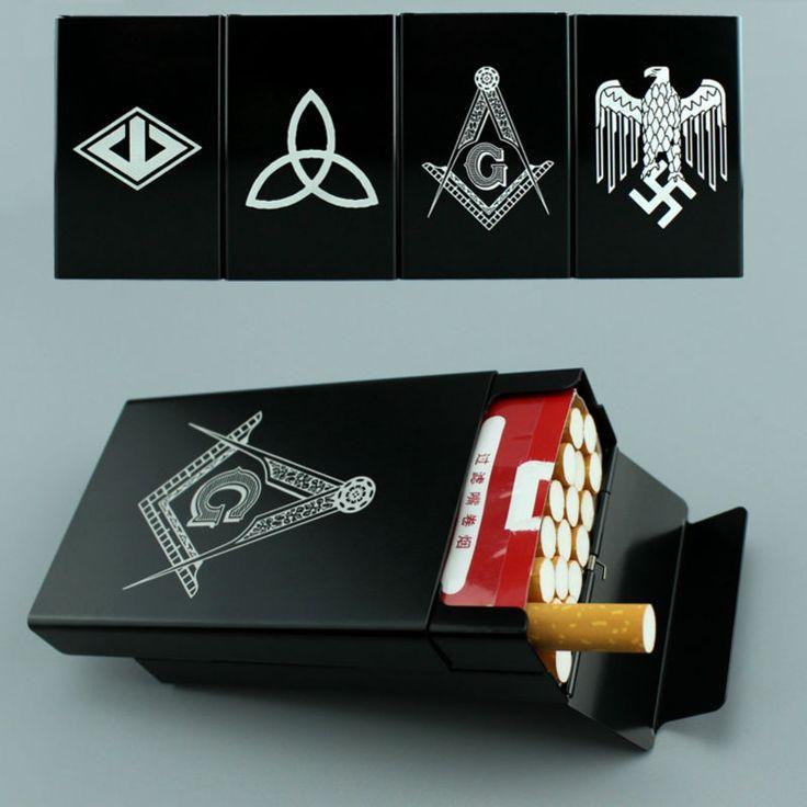Aluminum Cigarette Case Box For 20 Sticks Cigarettes //Price: $29.80 & FREE Shipping //     #Electronics