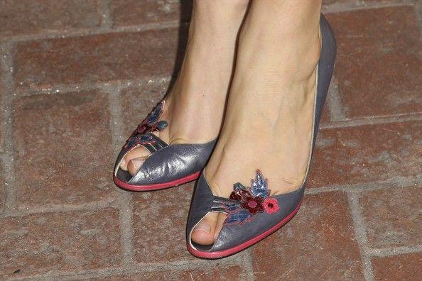 Alexa Davalos Photos Photos - Actress Alexa Davalos (shoe detail) attneds TNT's 'Mob City' Screening after party at Emerson Theatre on November 21, 2013 in Hollywood, California. - 'Mob City' Screening in Hollywood