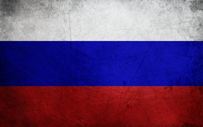 Russian Flag, Russia, texture walls, the Russian Federation