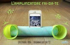 Quandofuoripiove: L'amplificatore fai-da-te: il riciclo creativo per ballare scatenati! D.I.Y. ipod amp