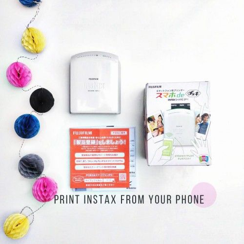Instax Printer: For Your Phone