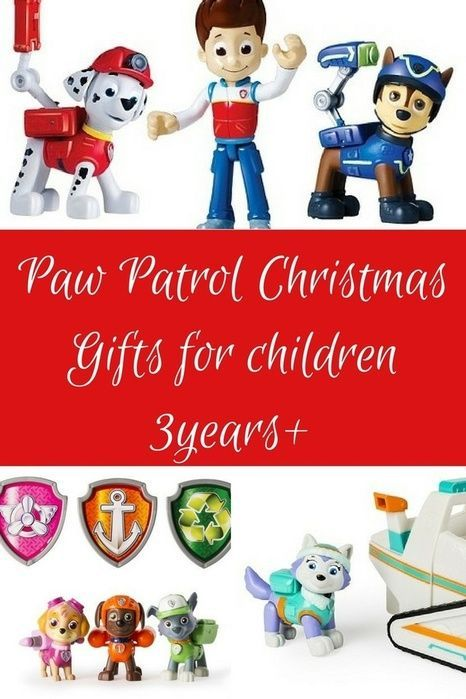 Christmas gift ideas for kids. Paw Patrol Action Figures, No job is too big, no pup is too small... #Christmas#Holidays#kidsloveChristmas