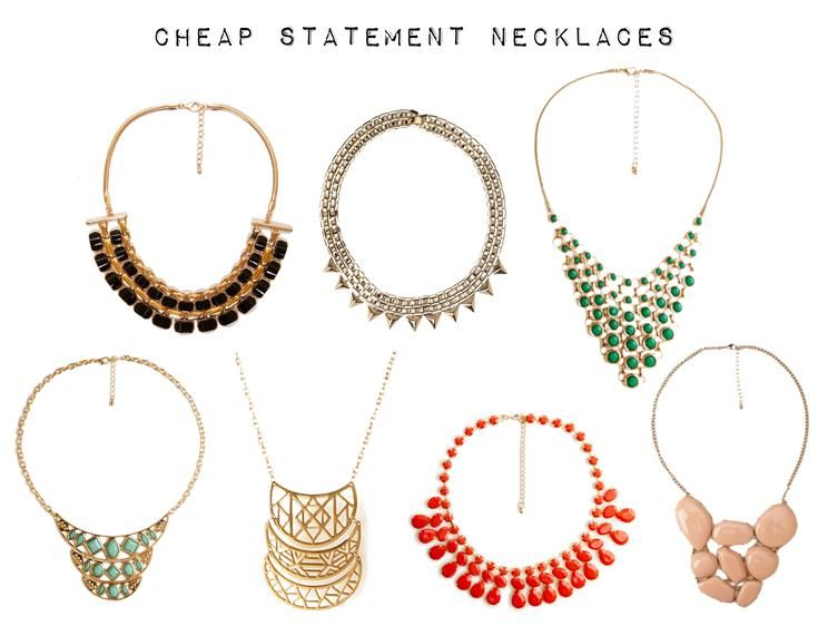 Reader Question: Where can I find cheap statement necklaces?