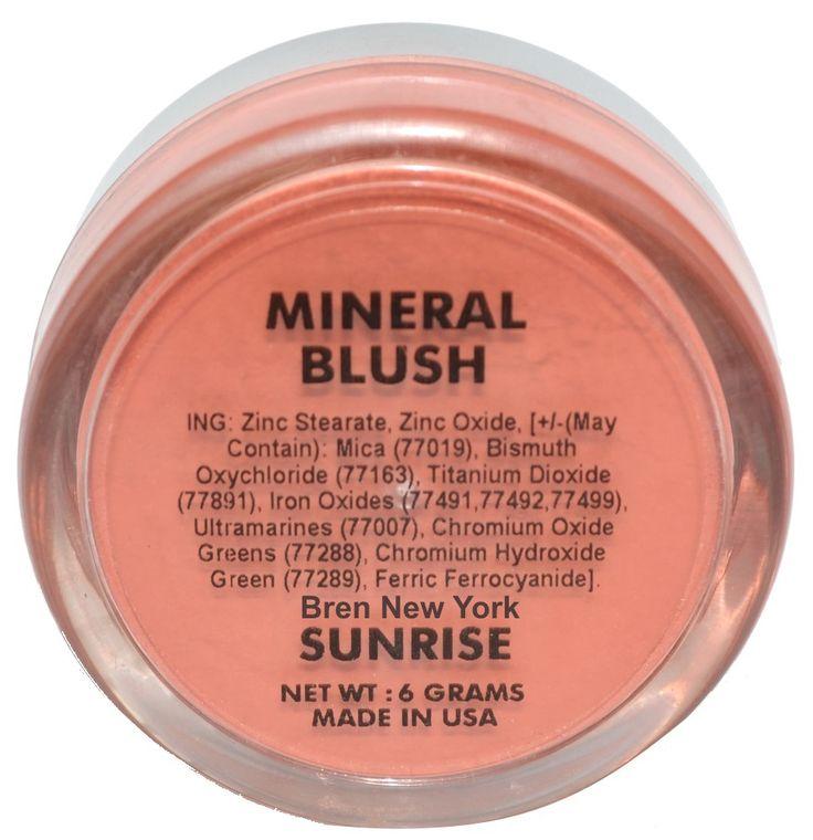 Sunrise Mineral Blush Shade