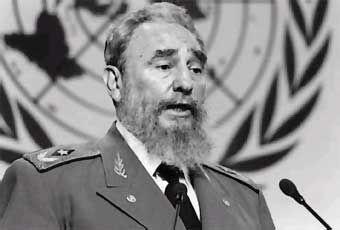 Fidel Castro - lider comunista cubano
