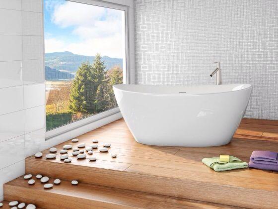 Nydelig badekar! Viena fra Interform