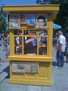 101 years of the Greek periptero/kiosk