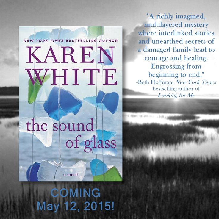 Love the reviews that are coming in on my new book!  Can't wait to share The Sound of Glass with everyone when it releases on May 12.