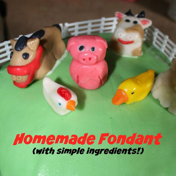 "The (mis)Adventures of a ""Born Again"" Farm Girl: Homemade Fondant (with simple ingredients!)"