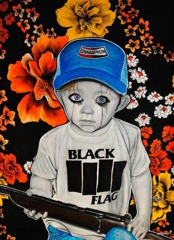 """Michael Mararian """"Black Flag"""""""