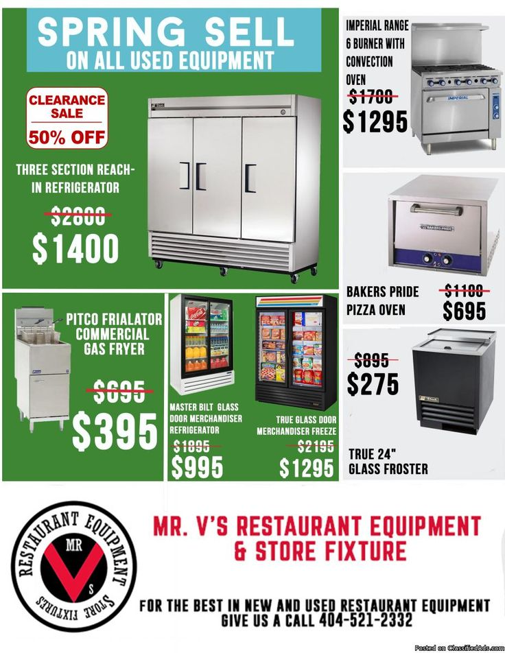 Used Commercial Kitchen Equipment Atlanta Ga