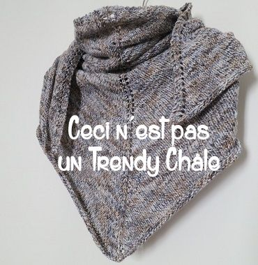 DIY tricot: châle Teruca