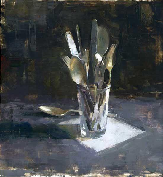 "Interview with Jon Redmond : Painting Perceptions ""Silver"" JON REDMOND s a contemporary American painter"